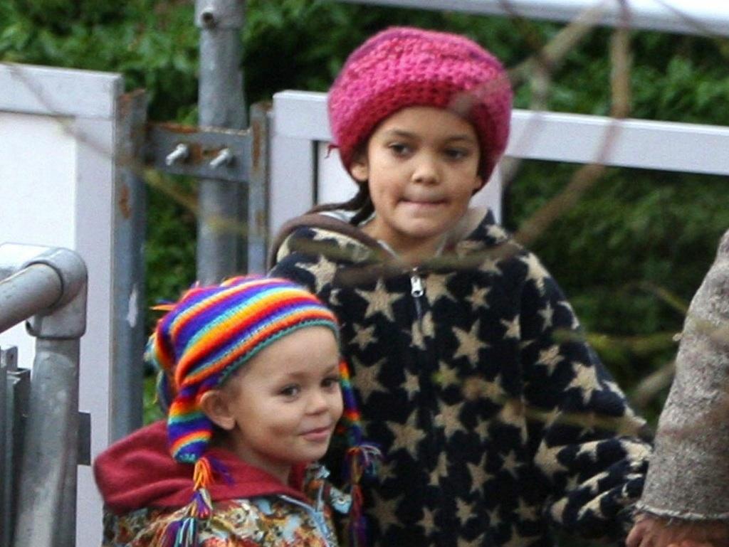 Thandie & Ol's daughters