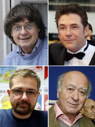 Four of France's most revered cartoonists - Stephane Charbonnier, Georges Wolinski, Bernard 'Tignous' Verlhac and Jean Cabut - were among 12 executed by gunmen.