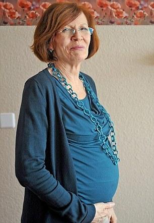 Annegret Raunigk pregnant with quads