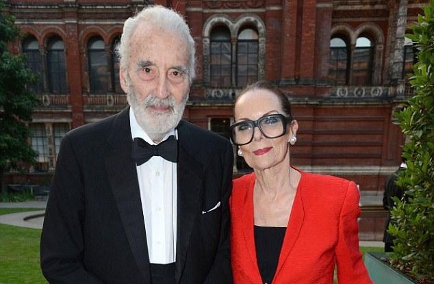 Sir Christopher & his wife Birgit in 2012