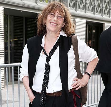 Jane Birkin the woman who inspired Hermès Birkin bag.