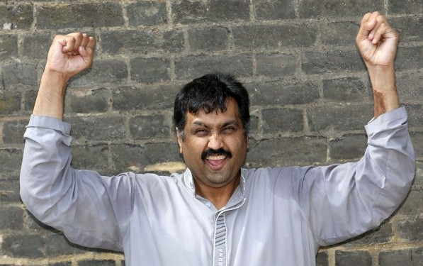 Mohammed Abad is happy at last!