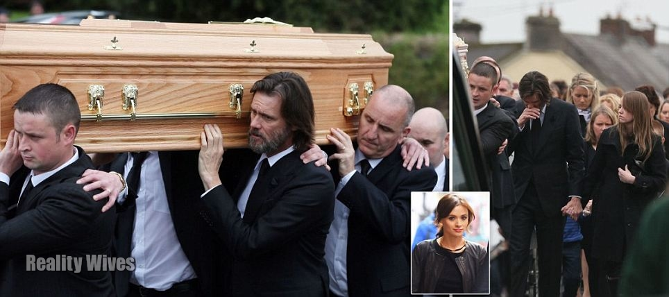 Cathriona White funeral-Jim Carrey-wd