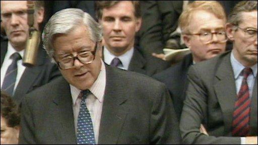 Lord Geoffrey Howe-parliament