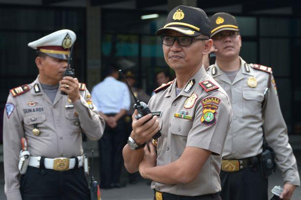 Indonesian-policemen