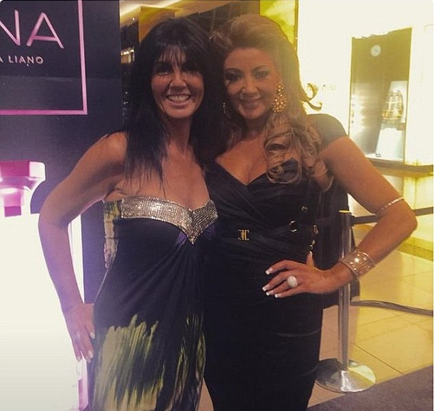 Gina is joined by friend Lisa Tonkin for her fragrance launch