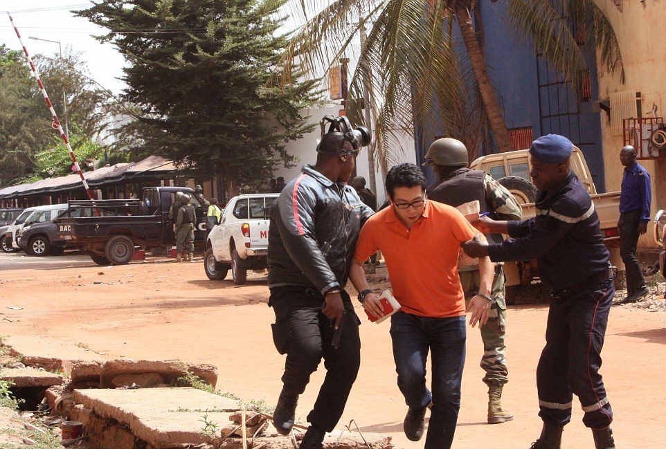Mali massacre-security officer-hostage