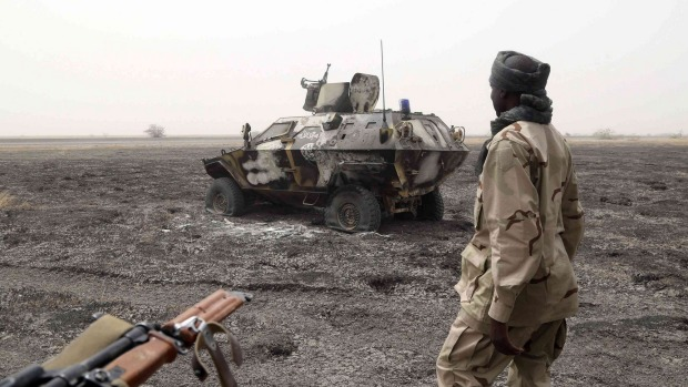 Chadian soldier