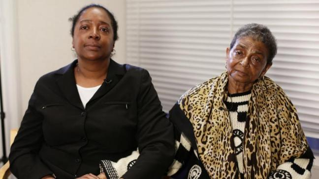 Sian's sister & mother, Ava Blake & Pansy Blake
