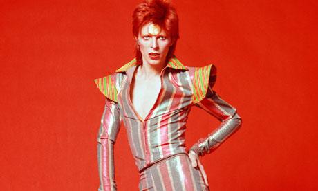 David Bowie, in 1973, Ziggy Stardust
