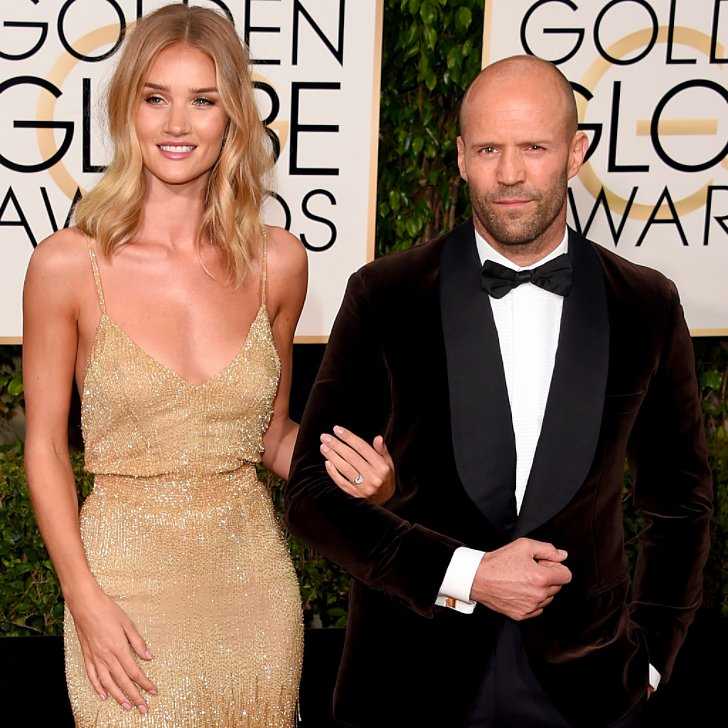Jason Statham & Rosie Huntington-Whiteley Are Engaged ...