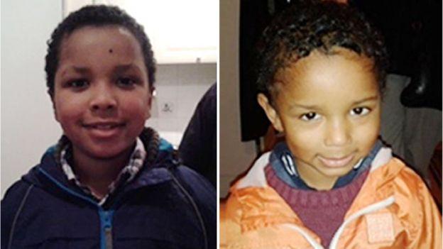 Sian's sons Zachary Bilal Kent-Blake & Amon Ben George Kent-Blake were murdered.