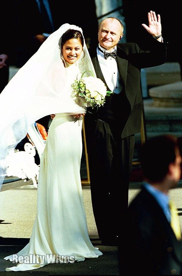 Orianne & Phil on their wedding day