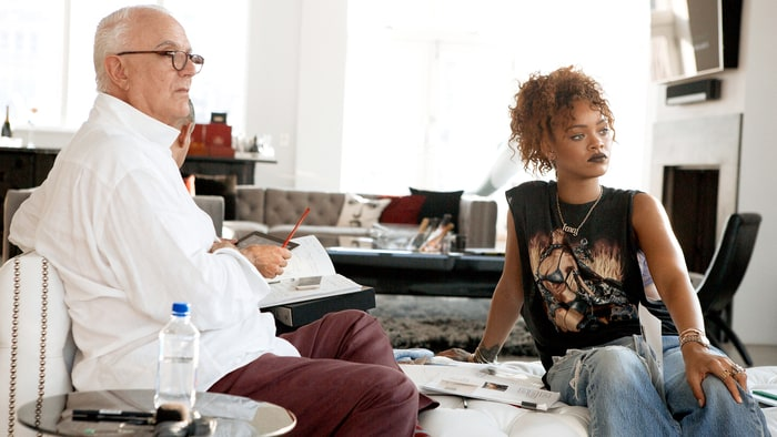 Manolo Blahnik & Rihanna