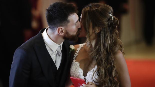 Lionel Messi-wedding-1