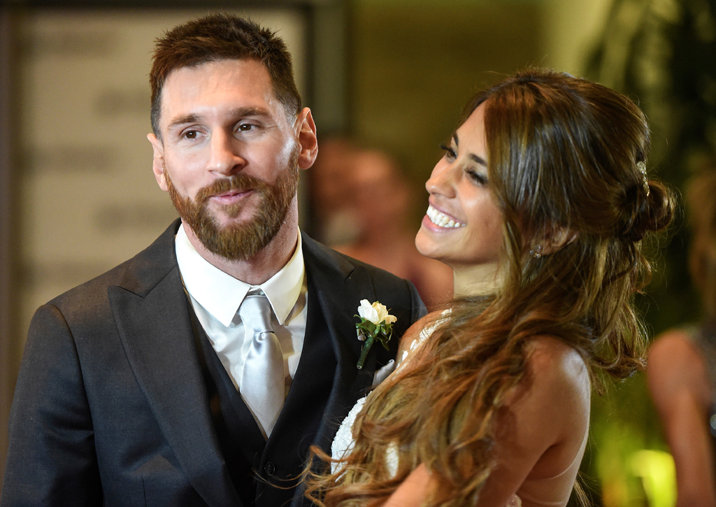 Lionel Messi-wedding
