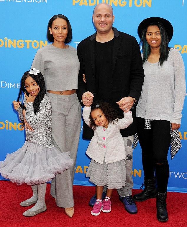 Mel B-Stephen Belafonte-family